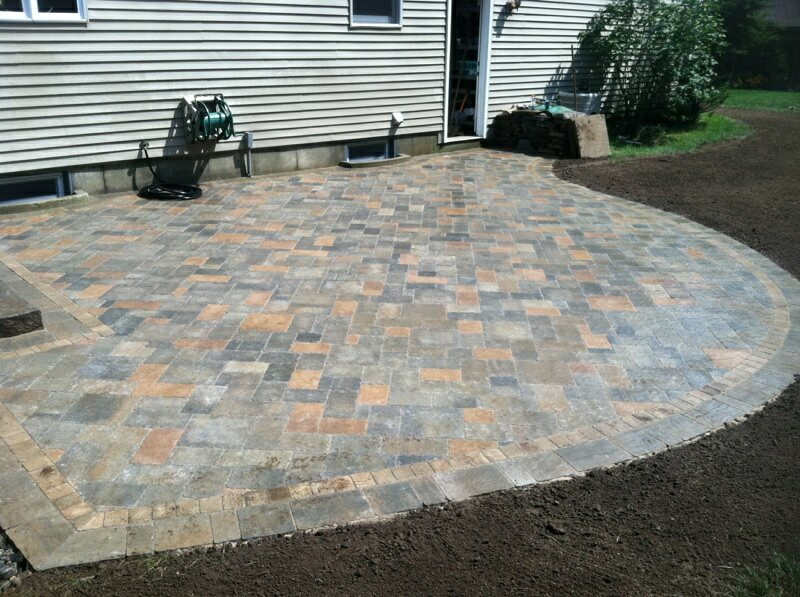 A And J Porfilio Landscape Co. | 500 Sq Ft Patio In 2 Minutes!   A And J  Porfilio Landscape Co.